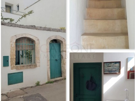 SALENTO – Sanarica, Santa Cesarea Terme. Charming three-bedroom period town house for sale.