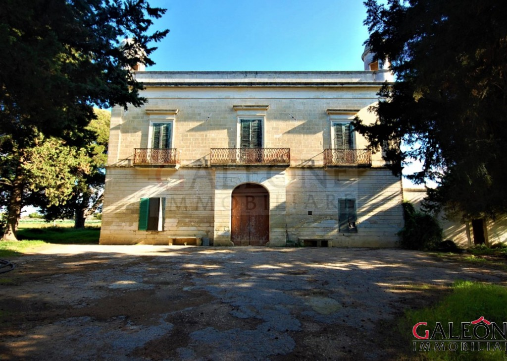 Sale Period house Galatina - Period manor house, with private garden and large private agricultural land. Locality